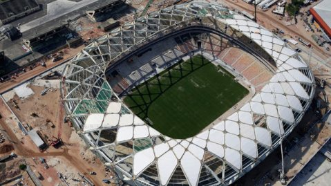 Over view of Stadium inManaus