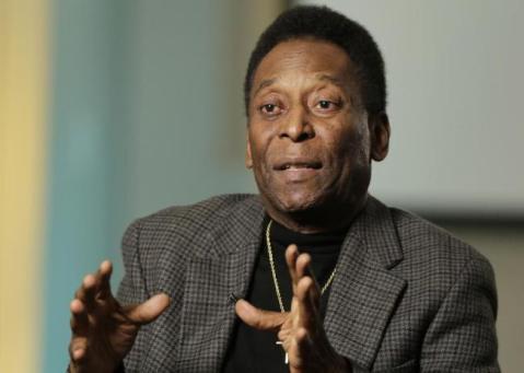 Pelé's portrait