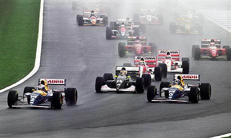 Primeira volta mais espetacular da históia da Formula 1