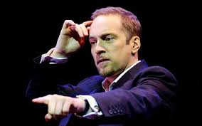 Derren Brown in a talk