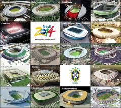 A mosaic of all the stadia