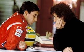 Senna and Prost face to face