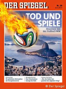 Capa da Der Spiegel