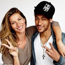 Gisele has one friend in football (well soccer for her) Her husband plays football'