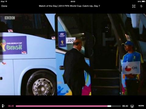Del Bosque and the Chile Bus